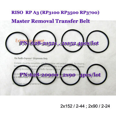 Master Removal Belts For Riso Rp3100 Rp3500 Rp3700 Disposal Transfer Belts 8pcs