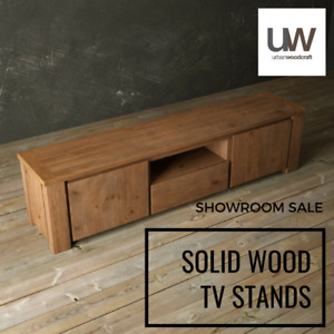 GREAT VALUE - Solid Wood Entertainment Units