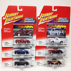 JOHNNY LIGHTNING 1/64 SCALE WILLYS GASSERS