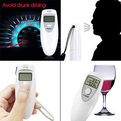 Digital Alcohol Breath LCD Breathalyzer Analyzer Tester Detector Testing Pocket