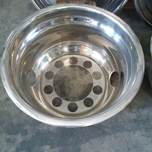 "22.5"" Stainless Steel Wheel covers"