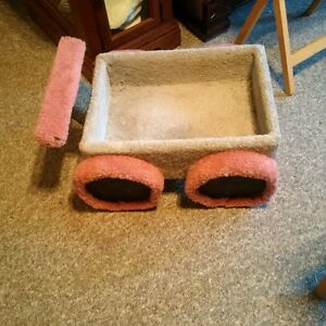 Pet bed and cat trees