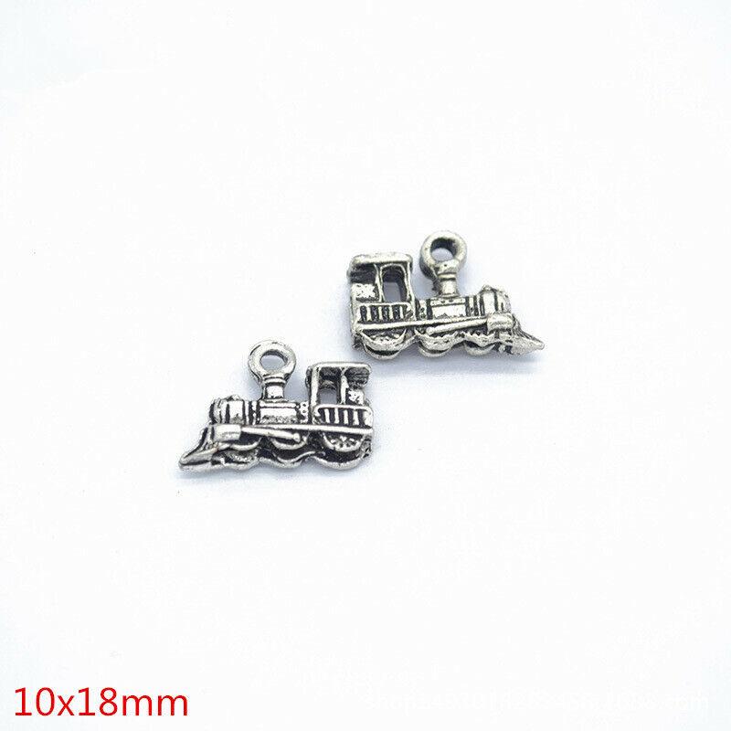 Lots 20 PCS Tibetan Silver Crafts Making Jewelry Starfish Charms Pendants 12*6mm