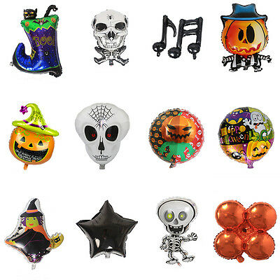Halloween Foil Balloon Kids Xmas Gift Birthday Party Decoration Favor  - Kids Halloween Party Decorations