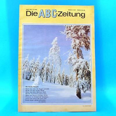 DDR ABC-Zeitung 12-1982 Zeitschrift für Junge Pioniere Oberhof Feuerwehr Berlin