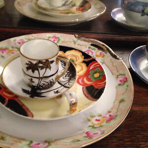 Collection of Antique Nippon and Noritake Dishes,
