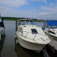 Priced to Sell! 24' Cabin Cruiser in paid slip