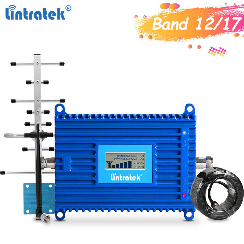 Band 12/17 4G LTE Signal Booster 700Mhz Repeater AT&T U.S Cellular T-Mobile