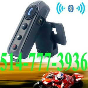 Motorcycle Bluetooth Interphone Headset Helmet Intercom