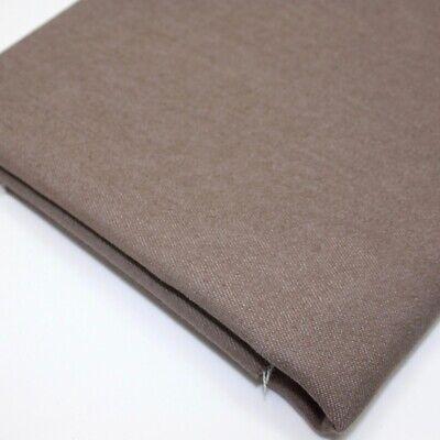 Bunt Stretch Denim - Nerz Braun - Jeans Köper Stoff Schneiderei (Braune Denim-stoff)