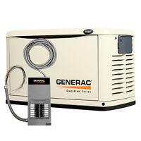 11kw Generac Generator + 12-Circuit Automatic Transfer Switch