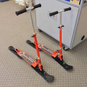Stiga Snow Kick Winter Scooter for Kids