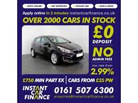 Kia Ceed 2 Isg Hatchback 1.6 Manual Petrol LOW RATE FINANCE AVAILABLE