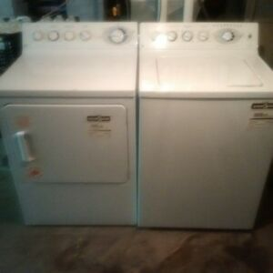 GE Profile Super duty washer and dryer Pair