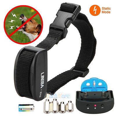 Electric Anti Bark No Barking Tone Shock Training Collar for Small Pet Dog NEW