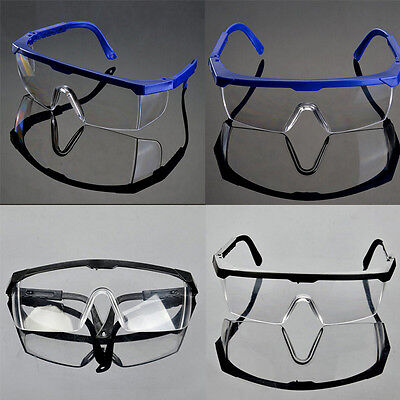 1x Vented Safety Goggles Glasses Eye Protection Protective Lab Anti Fog Clear Mc