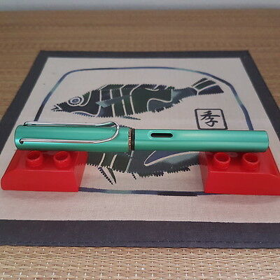 Lamy Al-Star L32EF Blue Green Fountain Pen (EF Nib)