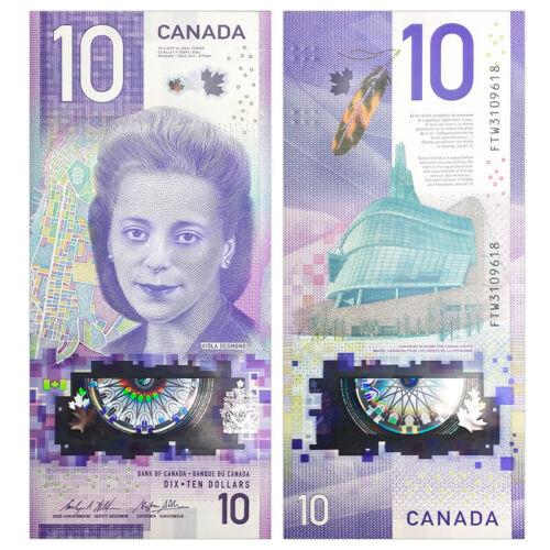 Canada 10 Dollars, 2018, P-NEW, UNC, Banknotes, Original