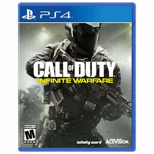 Call of Duty: Infinite Warfare for PS4 (Mint Condition)