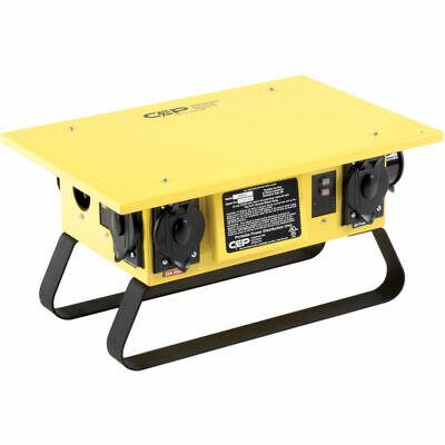 Cep 6506gu 50a 125250v Temporary Spider-power Box U-ground