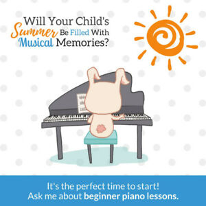 Fun Summer Piano Trial for Kids 3-5