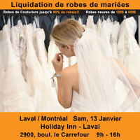 WEDDING DRESS CLEARANCE SALE BRIDAL SHOW! $199-$899 SIZES 2-28W
