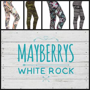 Mayberrys White Rock - #1 Leggings in Canada!