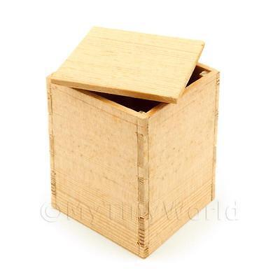 Miniatura Para Casa de muñecas grande madera Embalaje CAJA