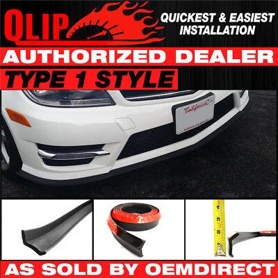For Sale Type 1 Front Bumper Quick Lip Splitter Spoiler Shield EZ 100 Inch (Mercedes Benz C63 Amg Black Series For Sale)