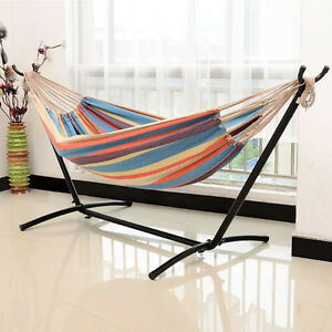 Double Hammock Only....stand not included