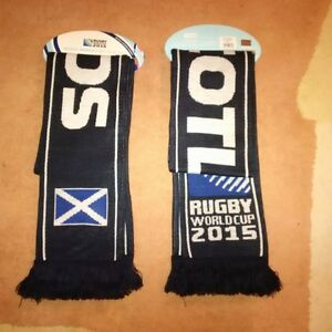 Official Scotland Rugby World Cup scarf Scottish