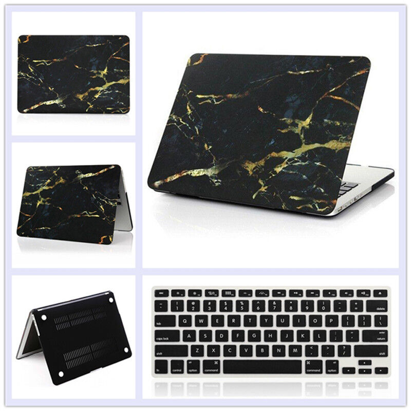 """Rubberized Hard Case Shell +Keyboard Cover for Macbook Pro 13/15"""" Air 11/13""""inch"""