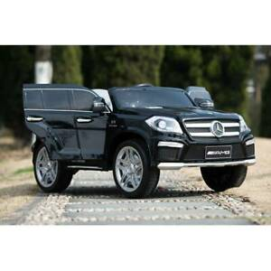 licensed mercedes benz gl63b kids ride on car with remote controller