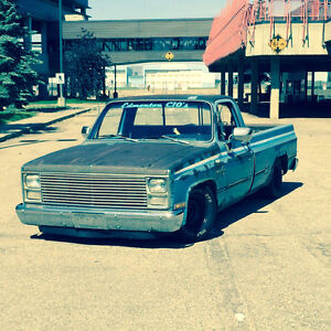 1983 chevy c10 trade for model A