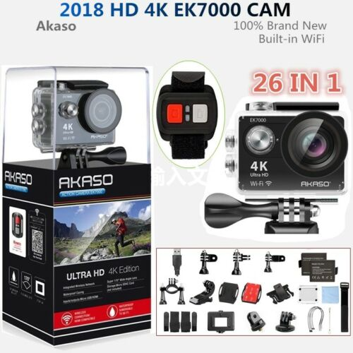 Купить Akaso EK7000 Wifi 4K 1080P Action Sport Action Camera DVR Camcorder Waterproof