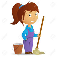 Reliable housekeeper available in the afternoons