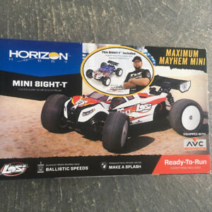 brand new losi mini 8ight-t and used mini 8ight for $450 firm.