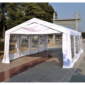 13'x26' Heavy-duty Outdoor Carport Wedding Party Event Tent Pati