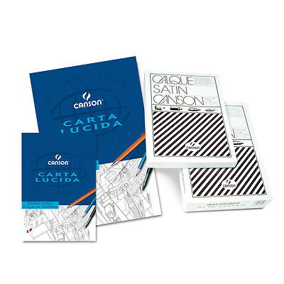 Stock 10 Album di CARTA LUCIDA da 10 Fogli Formato A4 Grammatura 82,5 g/m^2