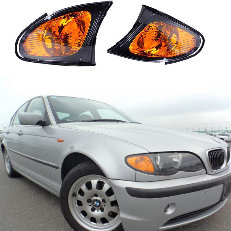 For BMW E39 E46 3-Series Front Passenger Turn Signal Light with Yellow Lens OES