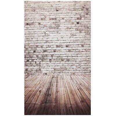 Photography Background Studio Photo Props Backdrop 3X5FT Wood Grain Brick 1 D9P4