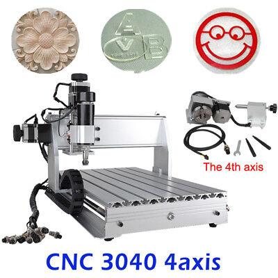Cnc 3040z-dq 4-axis Router 500w Engraving Mach 4 Usb Cutting Machine 110v220v