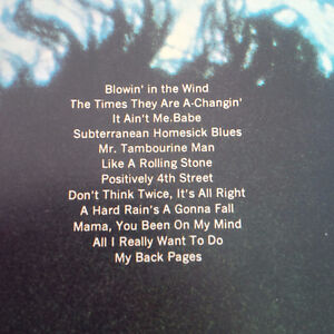 Bob Dylan's Greatest Hits, Words and Music Kitchener / Waterloo Kitchener Area image 2