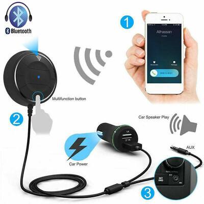 Auto Bluetooth 4.0 Wireless Musik Freisprecheinrichtung Autoladegerät Handsfree