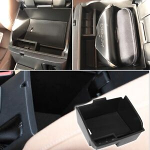 Armrest Console Central Storage Box Fit For Toyota Fortuner An160 2016 2017 2018