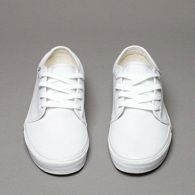 Vans 106 Vulcanized True White Mens Womens Shoes Canvas Sneakers Sizes