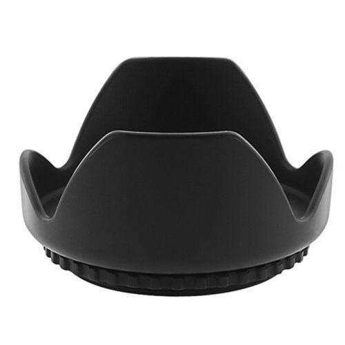 New 49mm Flower Crown Shape Petal Lens Hood for Canon Nikon Sony DSLR Camera