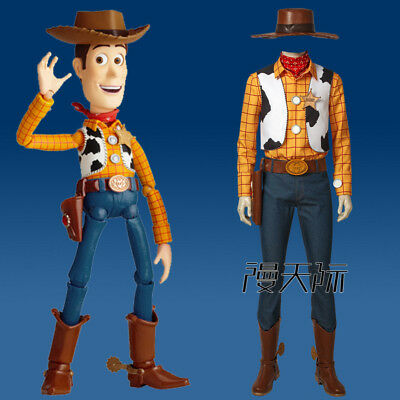 Toy Story 2 Woody Cosplay Kostüm Costume Outfit full set shoe Halloween Shoe - Woody Kostüm