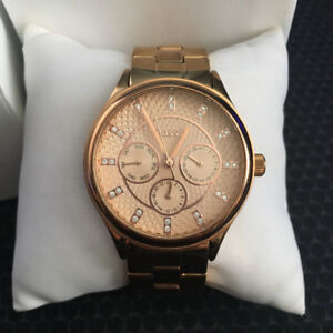 Fossils rose gold watch