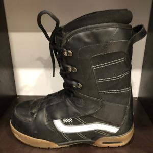 Mens Vans Snowboard Boots SZ 14